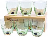 Набор стаканов Bohemia Crystal Elisabeth 25186/382066/22/300 (6шт) -