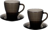 Набор для чая/кофе Luminarc Louison Eclipse P1888 -