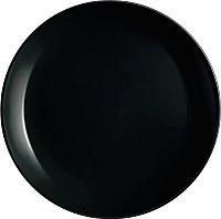 Тарелка столовая мелкая Luminarc Diwali black P0867 -