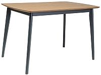 Обеденный стол Signal Vitro 120 (дуб/графит) -