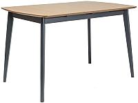 Обеденный стол Signal Vitro II 120 (дуб/графит) -