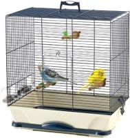 Клетка для птиц Savic Primo 40 (темно-синий/бежевый) -