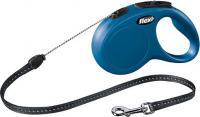 Поводок-рулетка Flexi New CLASSIC 11782 (S, Blue) -