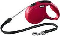 Поводок-рулетка Flexi New CLASSIC 11793 (M, красный) -
