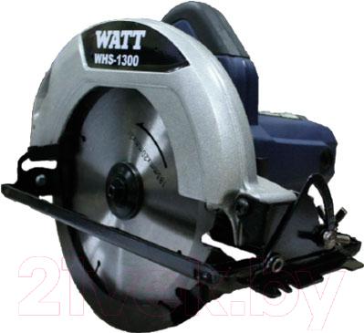Дисковая пила Watt WHS-1300 (6.013.185.00)