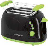 Тостер Polaris PET 0702LB (черно-зеленый) -