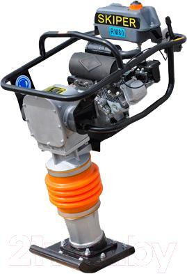 Виброплита Skiper RM-80 (Honda GX160) - общий вид