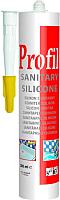 Герметик силиконовый Soudal Санитарный Profil (270мл, белый) -