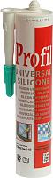 Герметик силиконовый Soudal Profil (270мл, прозрачный) -