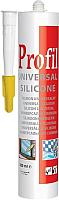 Герметик силиконовый Soudal Универсальный Profil (280мл, белый) -
