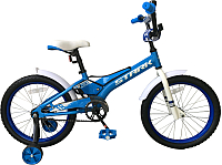 Детский велосипед STARK Tanuki 18 Boy 2019 (голубой/белый) -