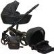 Детская универсальная коляска Ray Ultra Gold 2 в 1 (1/28/черная кожа) -