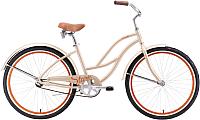 Велосипед STARK Vesta 26.1 S 2019 (18, бежевый/коричневый) -