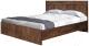 Двуспальная кровать MySTAR Вирджиния 100.1804 (таксус) -