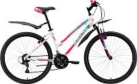 Велосипед Black One Alta 26 2018 (14.5, белый/розовый/голубой) -