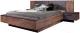 Двуспальная кровать MySTAR Вирджиния 100.1824 (таксус/графит) -