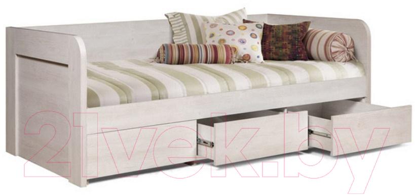 Купить Односпальная кровать MySTAR, Вирджиния 100.1825 (сосна каньон), Беларусь