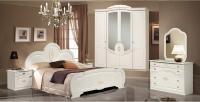 Комплект мебели для спальни ФорестДекоГрупп Щара-4 (белый) -