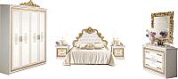 Комплект мебели для спальни ФорестДекоГрупп Оливия-4 / СП020 -
