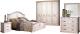 Комплект мебели для спальни ФорестДекоГрупп Бьянка-4К (светлый) -