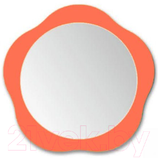 Зеркало интерьерное Алмаз-Люкс, 10с-Н/005-05, Беларусь, оранжевый  - купить со скидкой