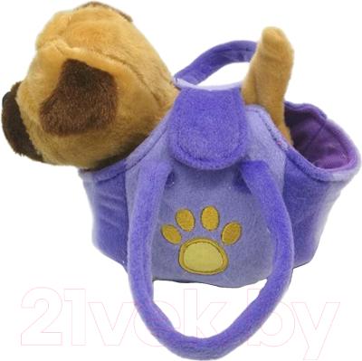 Интерактивная игрушка MyFriends Щенок в сумочке / HTL1764C