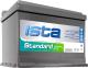 Автомобильный аккумулятор Ista Standard 6CT-60A1 Рус (60 А/ч) -