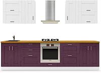 Готовая кухня Dipriz Кримсон 18 -