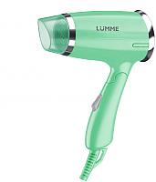 Компактный фен Lumme LU-1050 (зеленый нефрит) -