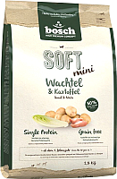 Корм для собак Bosch Petfood Soft Mini Quail&Potato (2.5кг) -