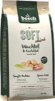 Корм для собак Bosch Petfood Soft Mini Quail&Potato (1кг) -
