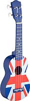Укулеле Stagg US-UK-FLAG с чехлом -