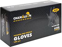 Перчатки хозяйственные CHAMALEON Nitrile Gloves M / 48801 (100шт) -