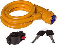Велозамок STG TY596 / Х87808 (100см, оранжевый) -