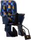 Детское велокресло STG GH-029LG / X95377 (синий с разноцветным текстилем) -