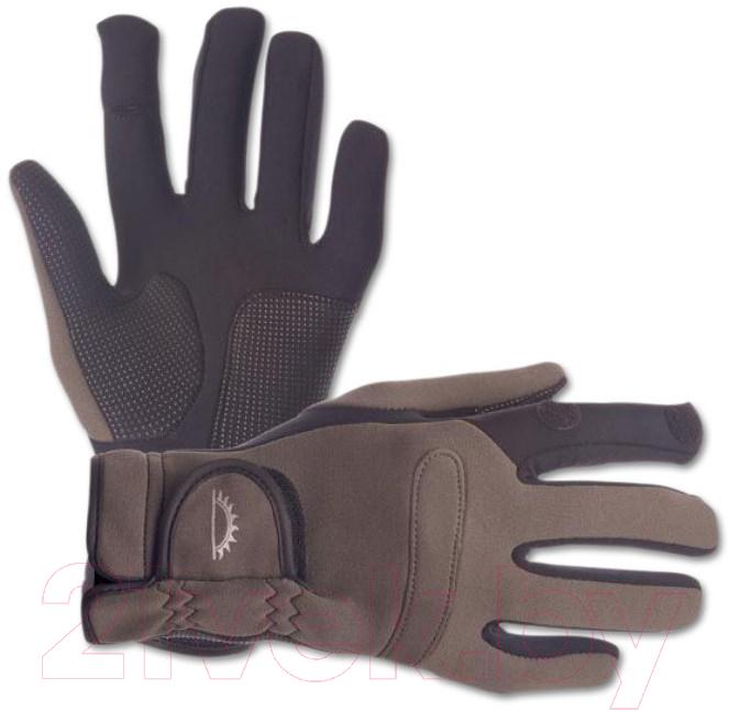 Купить Перчатки для рыбалки Sundridge, Hydra Super Stretch Full Finger / SNGLSS-L (р-р L), Великобритания, демисезон