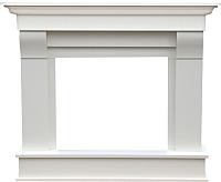 Портал для камина Смолком Albion SYM26 (белый/ваниль) -