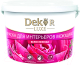 Краска Dekor ВД-АК 216 моющаяся для интерьера (1.1кг, белоснежный) -