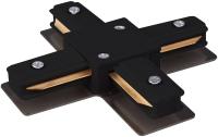 Коннектор для шинопровода Elektrostandard TRC-1-1-X-BK (черный) -