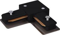 Коннектор для шинопровода Elektrostandard TRC-1-1-L-BK (черный) -