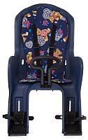 Детское велокресло STG GH-586A / X95382 (синий с разноцветной накладкой) -