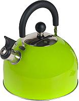 Чайник со свистком Endever Aquarelle-303 (зеленый) -