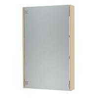 Шкаф с зеркалом для ванной Triton Эко-50 (бежевый) -