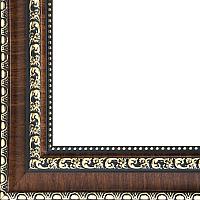 Рамка БЕЛОСНЕЖКА Donna 2203-BB (темно-коричневый) -