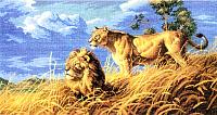 Набор для вышивания БЕЛОСНЕЖКА Цари саванны / 1565-14 -