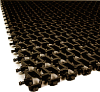 Коврик грязезащитный No Brand Пила мини 82x600 8.5мм (коричневый) -