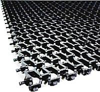 Коврик грязезащитный No Brand Пила мини 82x600 8.5мм (серебристый) -