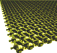 Коврик грязезащитный No Brand Пила мини 82x600 8.5мм (золото) -