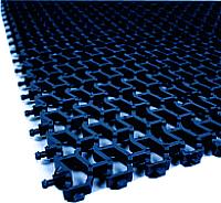 Коврик грязезащитный No Brand Пила 102x600 12 мм (синий) -