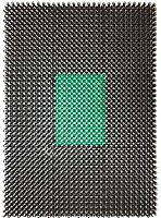 Коврик грязезащитный No Brand 84х1000 (искусственная травка/зеленый) -